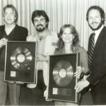 MOUSERCISE GOLD RECORD PRESENTED TO DENNIS MELONAS & BEVERLY
